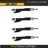 4PCS Fuel Injector 0261500109 2011 2013 For BMW X5