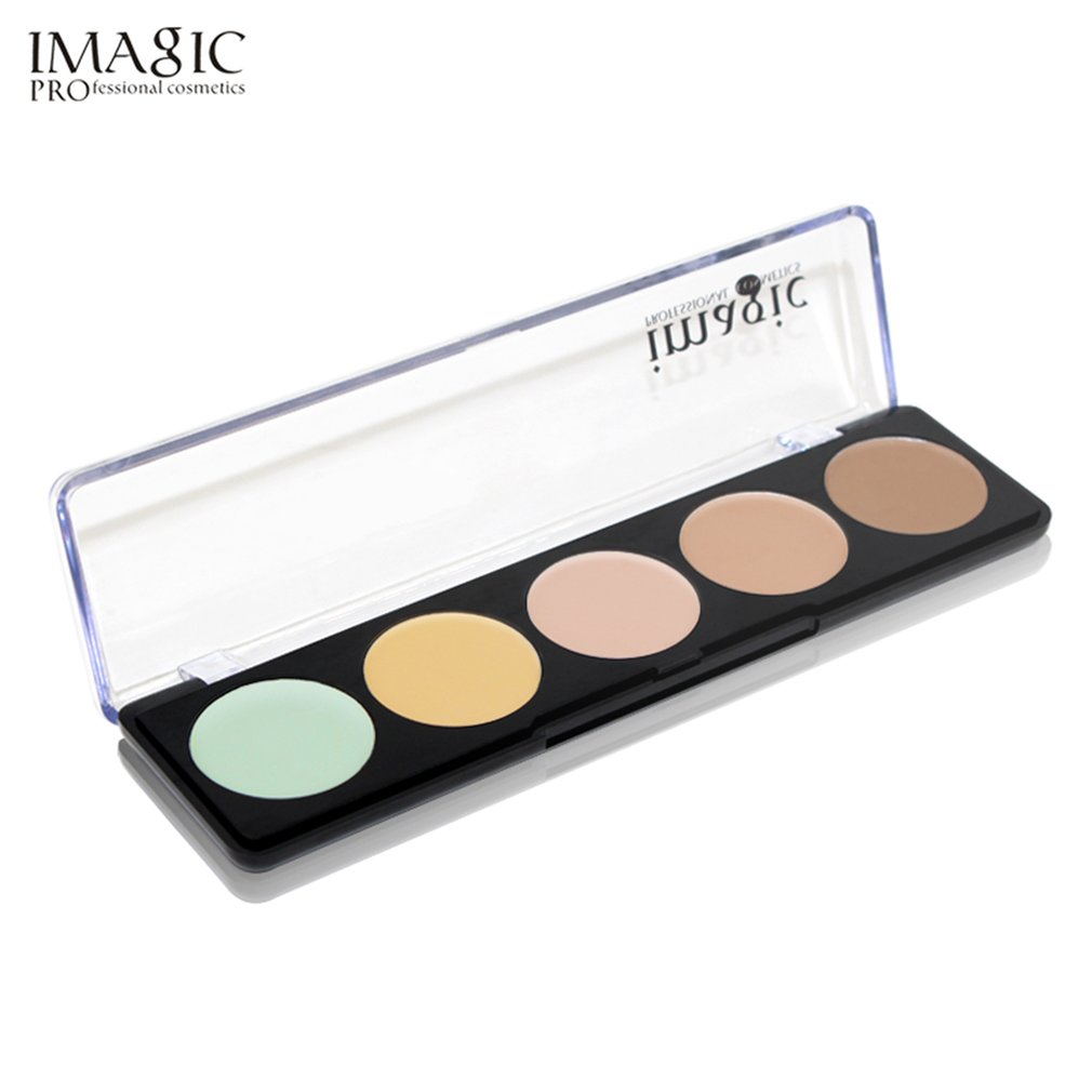 FA110 5 Colors/Set Face Concealer Corrector Natural Facial Makeup Tool Long Lasting Brighten Cream Contour Palette Cosmectic