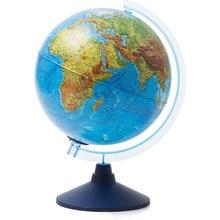 Глобус Земли Globen физико-политический с подсветкой от батареек
