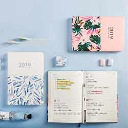 142*210 мм 2019 год календари школьников ежедневно еженедельник канцелярские милый мультфильм портативный дневник время Организатор