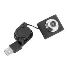Черный высокое качество 1 шт. мини USB 0,5 м Выдвижная веб-камера Веб-камера ноутбук ПК компьютер