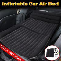 Car Inflatable Mattress Seat Travel Air Bed Mattress Car Bed Sofa Bed With Air Pump Outdoor Camping Travel Moisture proof Pad