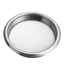 58Mm Silver Coffee Machine Blank Filter/Stainless Steel Backwash Cleaning Blind Bowl Accessories