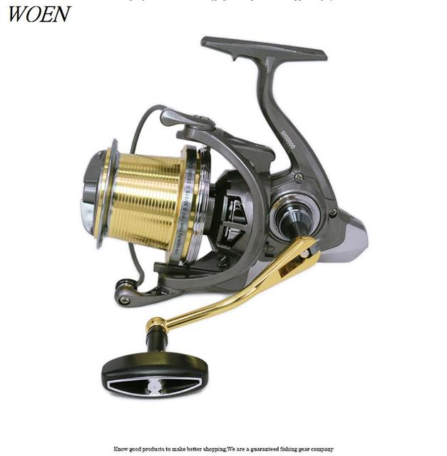 2019 New product SH10000 type Spinning wheel 6+1BB Sea fishing boat fishing wheel Lightweight design Metallic big line cup reel