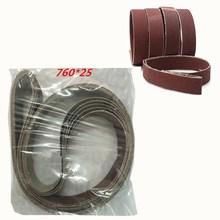 15Pcs Abrasive Polishing Sanding Belt 80/100/150/240/320 Grit Abrasive Machine Accessories Wood Hardware Grinder vertical type abrasive belt machine