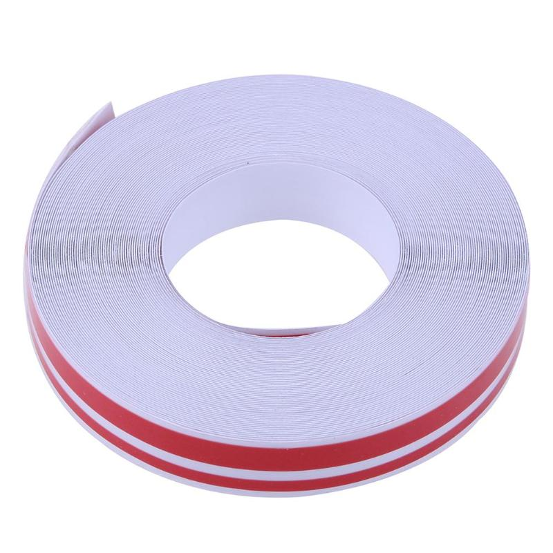 Car Styling 32ft 4x2mm Pinstriping Pinstripe Vinyl Tape Sticker Double Line Reflective Roll Tape Marking Film Sticker for Car-in Decals & Stickers from Automobiles & Motorcycles