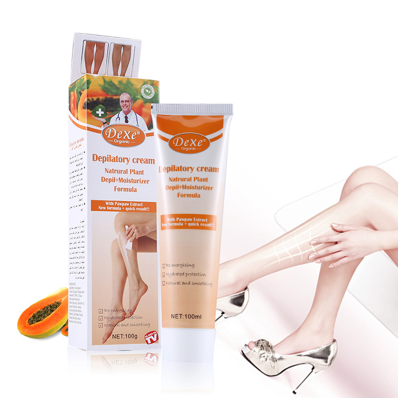 100g Hair Removal Cream Mild Not Irritating Hair Removal Moisturizing Unisex Depilatory Cream Shaving Hair Removal Cream