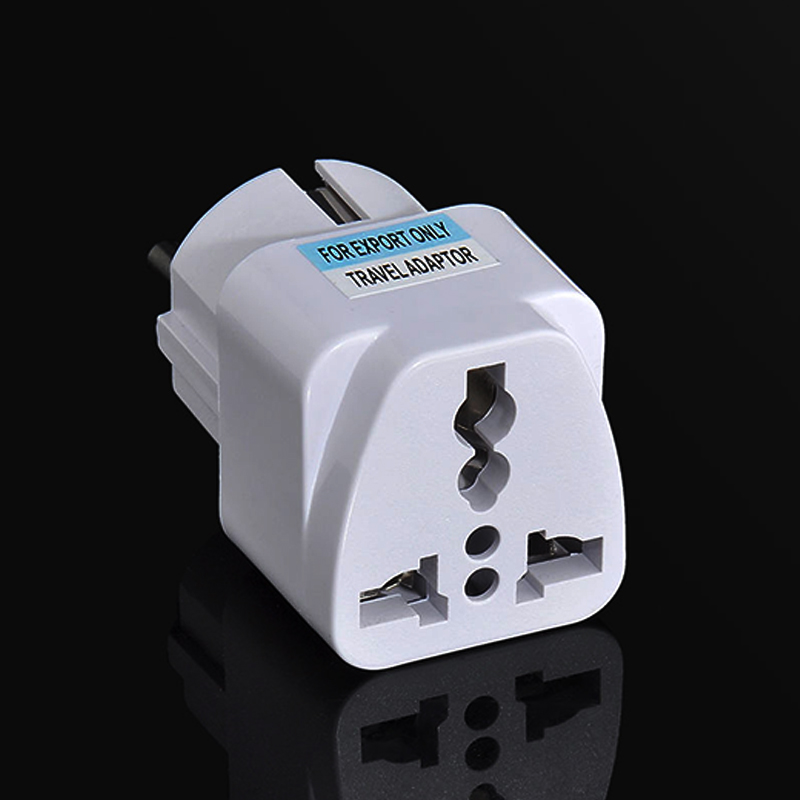Plug  Adapter Portable   Travel  European  UK US AU To EU  Socket  Converter Power