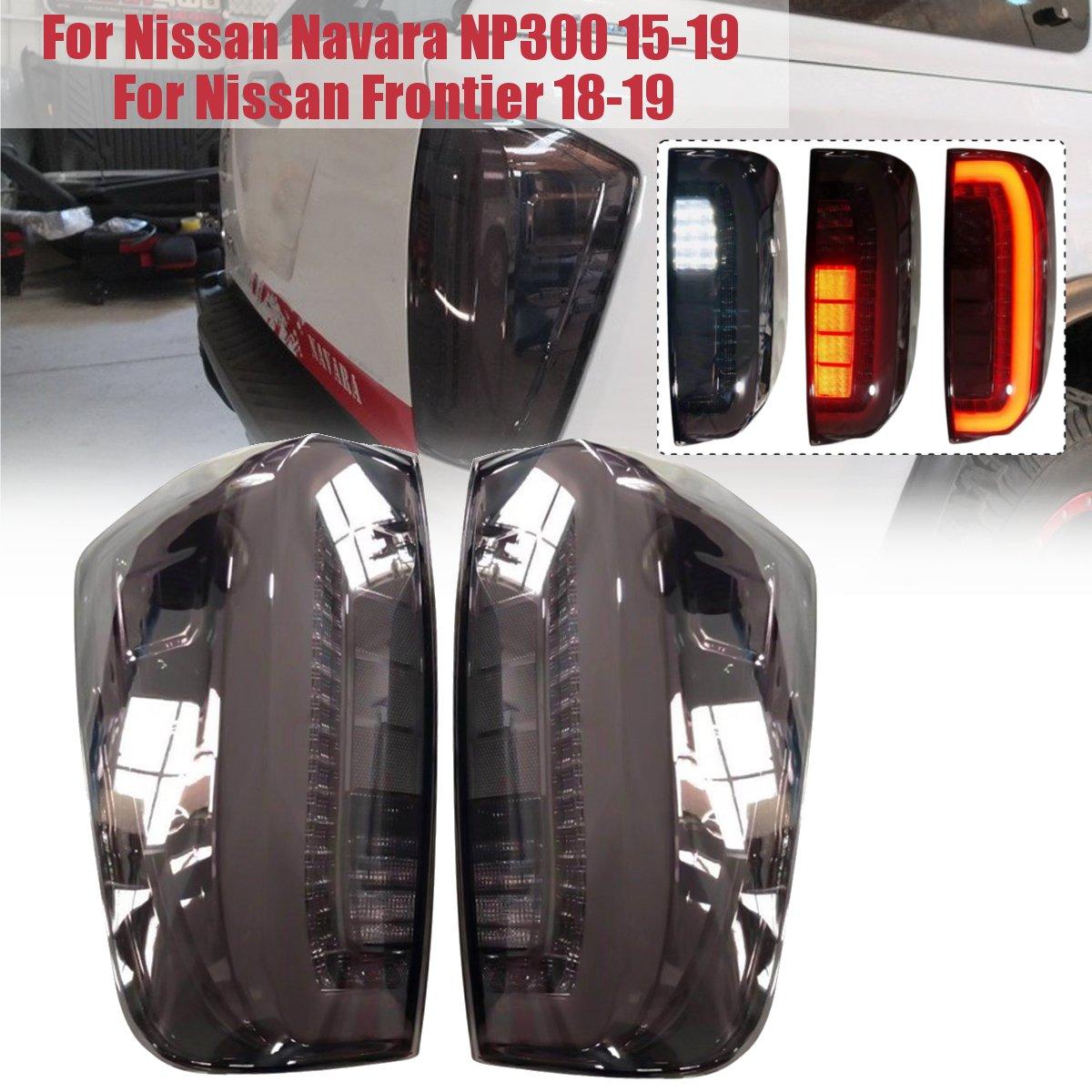 LED clignotant AUTO extérieur LED PARKING arrière feux de jour arrière feux arrière adaptés pour NISSAN NAVARA NP300 2015-2018 pick-up