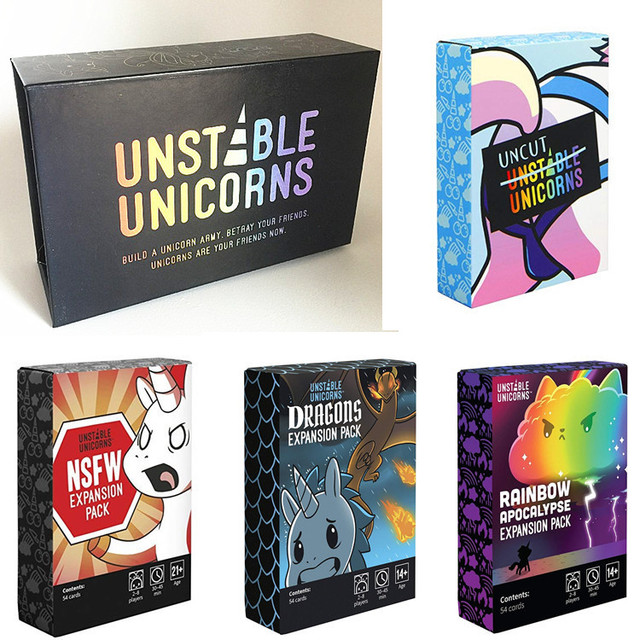 Best Quality Unstable Unicorns Board Game Card Game for Ages 14+