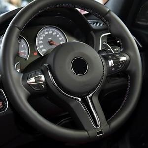 Image 1 - Cubierta de repuesto para volante de BMW, fibra de carbono y ABS, solo serie M, para M2, F87, M3, F80, M4, F82, M6, F06, F12, F13, X5M, F85, X6M, F86