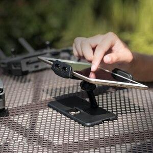 Image 5 - PGYTECH 2019 الجديد في DJI Mavic 2 Pro/Zoom حامل وسادة لوحي Mavic Air/Pro/Spark حامل دعامة شاشة التحكم عن بعد لهاتف iPad