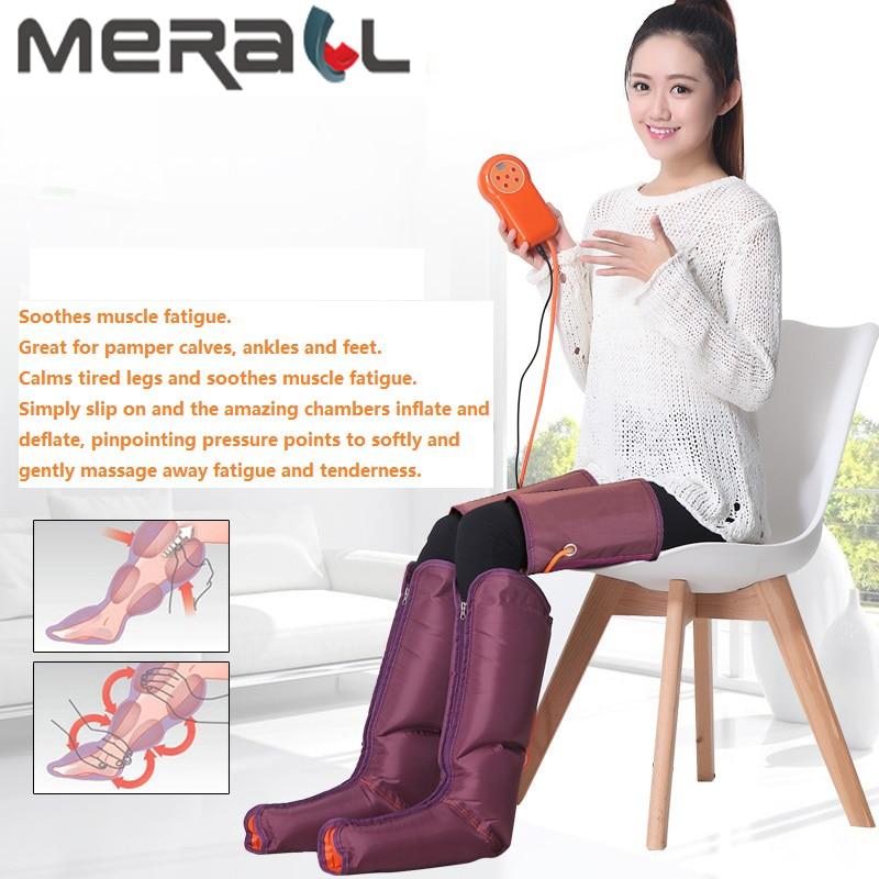 Appareil de beauté multifonction électrique de Massage des pieds à pression d'air avec contrôleur tenu dans la main de physiothérapie pieds et mollets d'ampli-in Massage et relaxation from Beauté & Santé    1