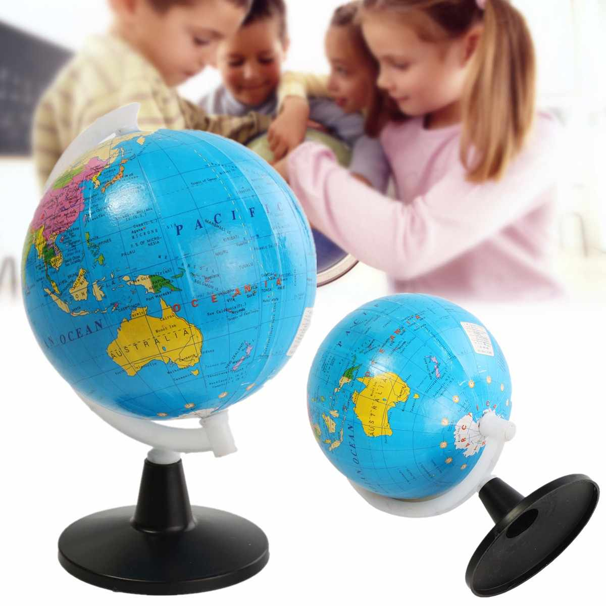 Карта мира в английском стиле с вертлюжками, подставка для школы, обучающая, надувная мировая земля, домашний офисный Декор