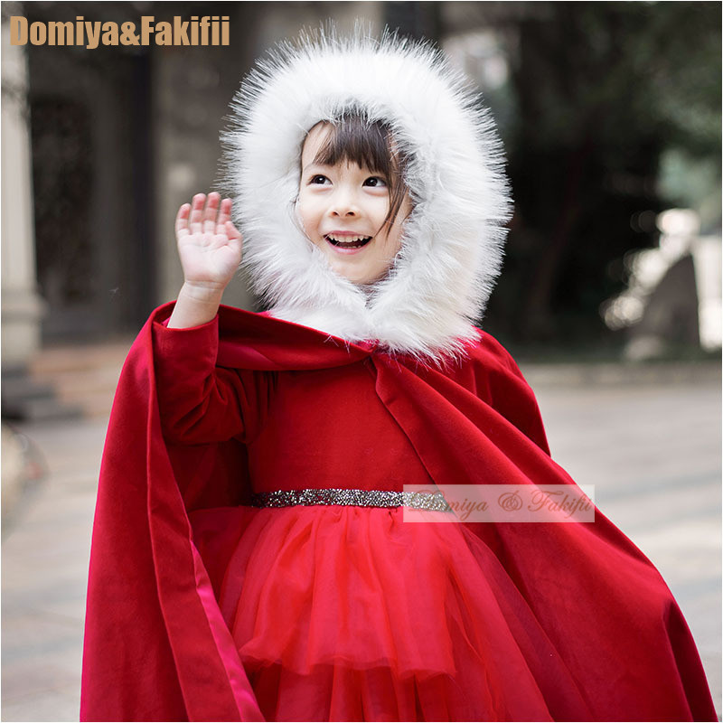 b05dae315523 Fashion New 2019 Autumn Winter Christmas Hooded Jacket For Girls ...