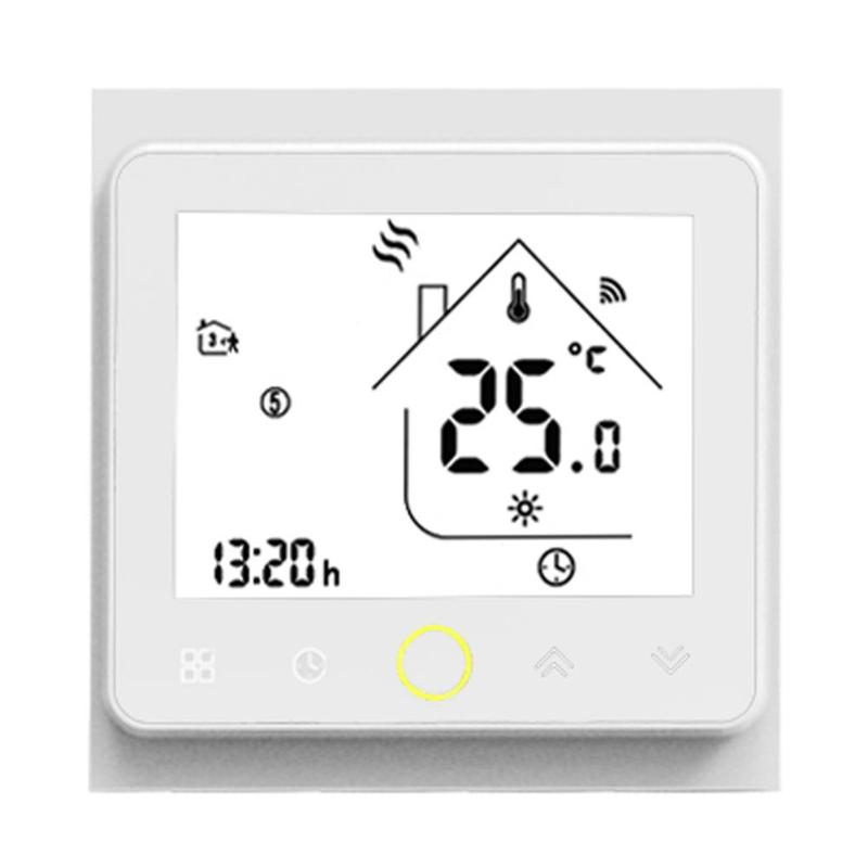With/No WiFi Smart Thermostat Temperature Controller For Water/Electric Floor Heating Water/Gas Boiler