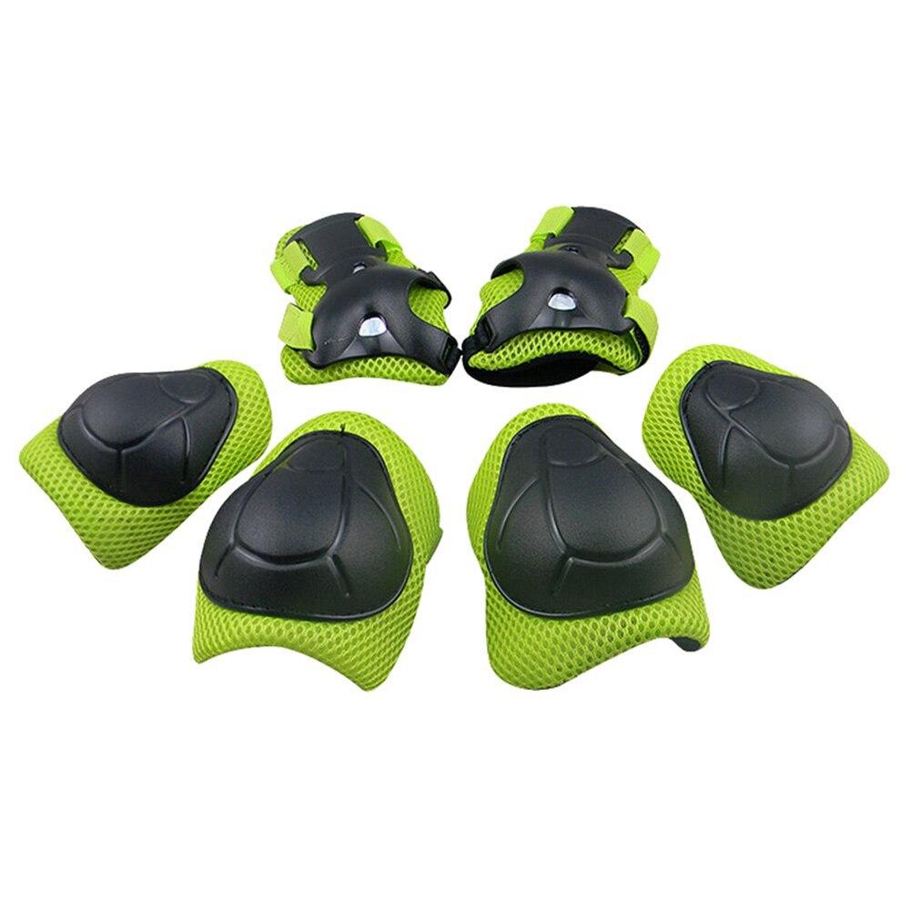 7 Pcs Skateboard Helm Schutz Set Ellenbogen Handgelenk Knie Pads Helm Sport Sicherheit Schutz Getriebe Schutz Für Für Kinder