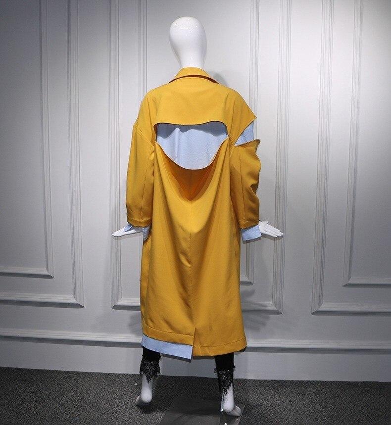 Collar Nouvelle Deat Mode Contraste Unique Turn down Couleurs Wb72704 Patchwork Manches Picture Veste Femmes Pleine Pour Poitrine Automne Vêtements 2018 As gWqBW5z