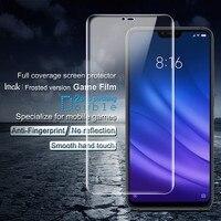 IMAK Xiaomi Mi 8 Lite защита экрана гидрогель III Матовая Мягкая Взрывозащищенная пленка для Xiaomi Mi 8 Lite не стекло