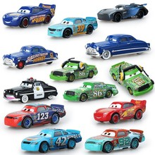 Disney Pixar Cars 3 12Styles Lightning McQueen Mater Jackson Storm Ramirez 1:55 Diecast Metal Alloy Model Toy Car Gift For Kids