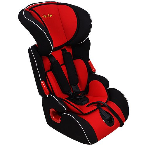 Car Seat Food-Grade Food KS-516 Lux Red, 9-36 kg, with liner car seat food grade food ks 516 lux graffiti gray 9 36 kg with liner