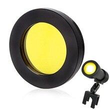 Светофильтр желтого цвета для Светодиодный светильник на голову стоматологическая лупа медицинский головной светильник хирургическая Лупа лабораторное освещение оптические аксессуары