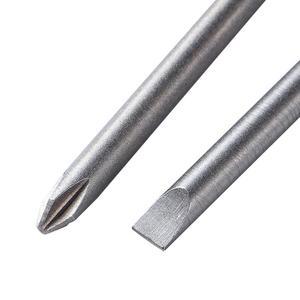 Image 3 - 10 ピース/セットロング六角シャンク S2 鋼スロットフィリップス六角クロスヘッドバッチ電動ドライバードリルビット 100 ミリメートル