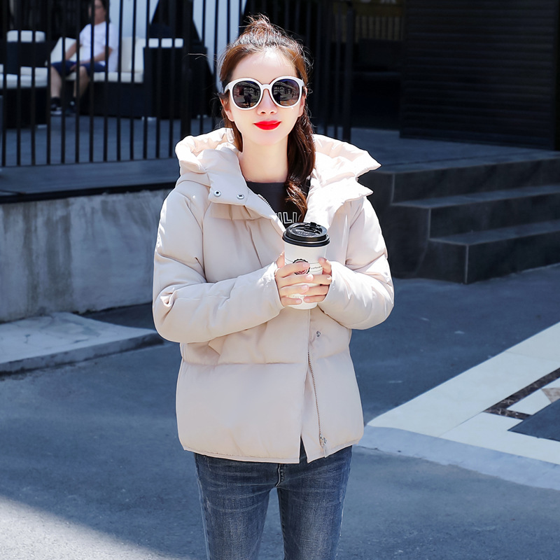 Winter Jacket Women 2018 Loose Hooded Cotton-padded Thick   Parkas   For Ladies Fashion Women Warm Jacket Coat Winter   Parka