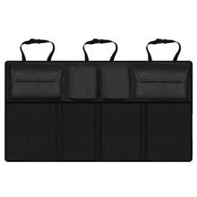 Автомобильный багажник Органайзер Регулируемый заднее сиденье сумка для хранения многоцелевой Оксфорд автомобильное сиденье заднее сиденье органайзеры универсальный карман для бутылки