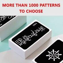Бесплатная доставка 50 шт разные дизайны трафарет для татуировок