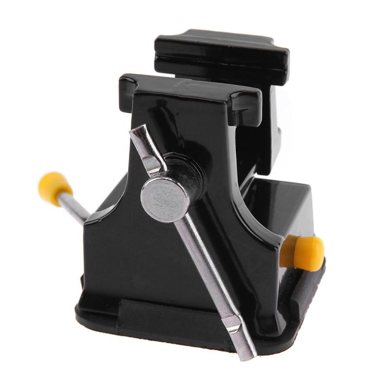 New Vise Rubber Professional Aluminum Miniature Bench Table Vise With Suction Cup Handmade Holding Tool Adjustable high quality