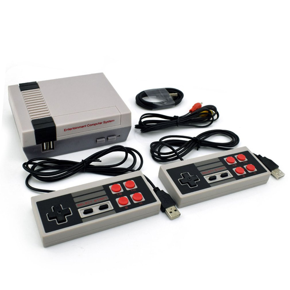 Mini TV Game Console 8 Bit Video Game Console Built-In 620 Games Portable Handheld Gaming Player AV Output