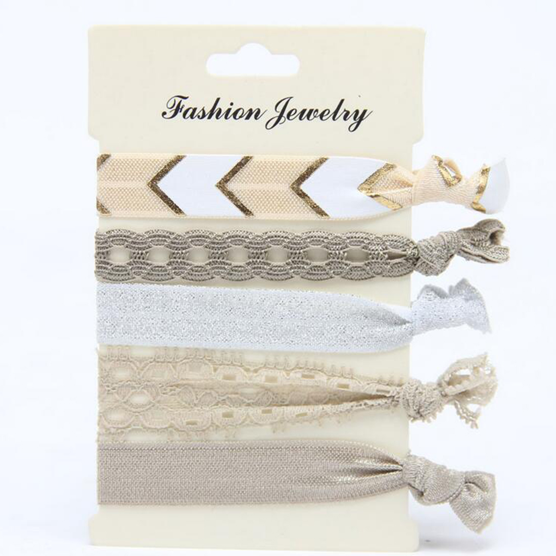 Korean Style Sweet Lace Printed Rope Rings Elastic Hair Ties For Women Girls Hair Bands Ponytail Holder Hair Accessories Gifts