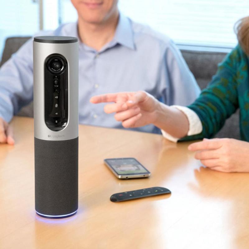 Logitech CC2000e haut-parleur vidéo conférence Webcam connecter le dispositif Full HD 1080 P 30FPS Webcams filaires USB avec télécommande - 5