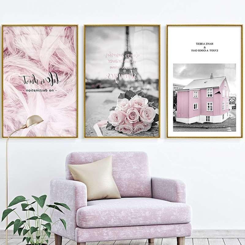 Copper Floral Prints //// Roses //// Flower poster //// Love life //// Wall Art Bedroom