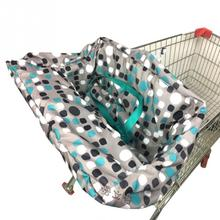 Полиэфирная Нескользящая Крышка для стульев многофункциональная для тележки для покупок чехол для детского сидения коврик