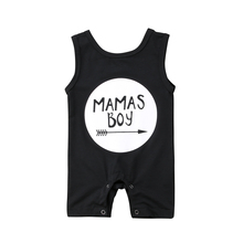 2018 New Brand High Quality  Cotton Newborn Baby Boy Sleeveless One Piece Swimwear Bathing Suit