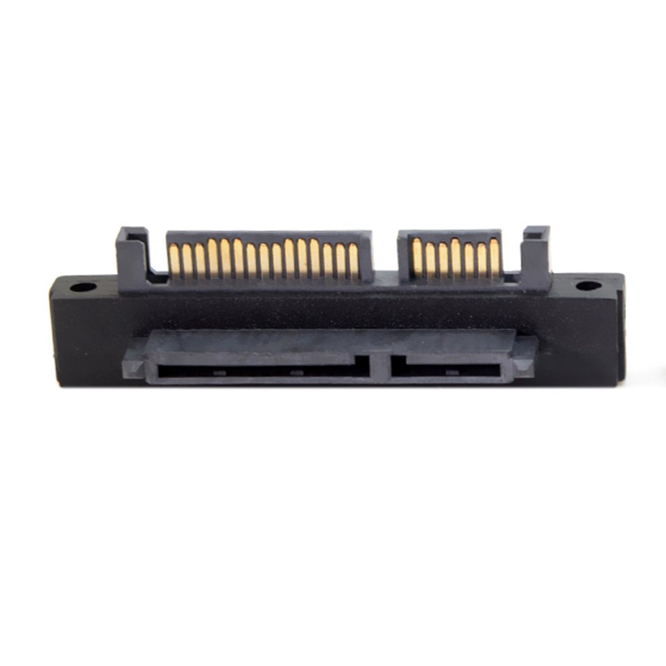 Cable Length: sata Adapter Cables Occus SATA Adapter Male to Female Extender SATA 7+15 22P Male to Female Right Angle 90 Degree Adapter UP