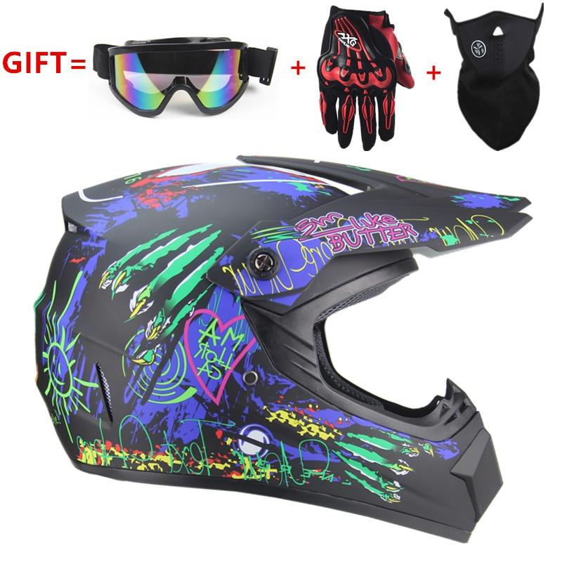 Motocicleta Adulto motocross Off Road Capacete ATV Dirt bike Downhill MTB DH capacete de corrida Capacetes cruz Capacete