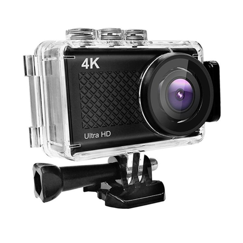 Mini Touch Screen Ultra HD Camera 4K/30fps WiFi 2.35 170Degree Underwater 30m Waterproof Helmet CameraMini Touch Screen Ultra HD Camera 4K/30fps WiFi 2.35 170Degree Underwater 30m Waterproof Helmet Camera