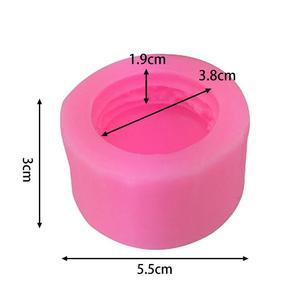 Image 5 - 3Dステレオマカロンスタイルシリコーン型diy手作り石鹸キャンドル金型フォンダンケーキチョコレートデコレーションツールシリコーン石鹸金型