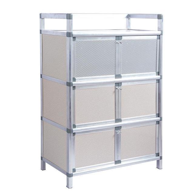 China Aparador Sideboard For Room Tea Aparadores Aluminum Alloy Mueble Cocina Kitchen Furniture Meuble Buffet Cabinet Cupboard