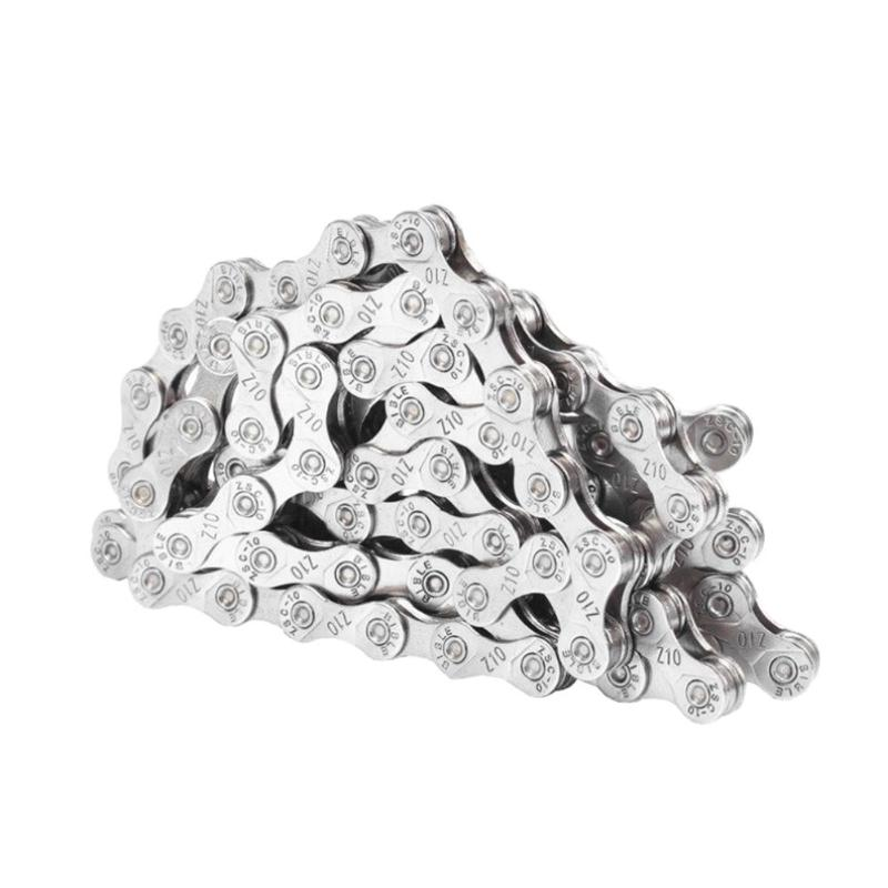 Silver Electroplated Anti-rust 6-7-8//9//10 Speed Mountain Road Bike Chain \Q8