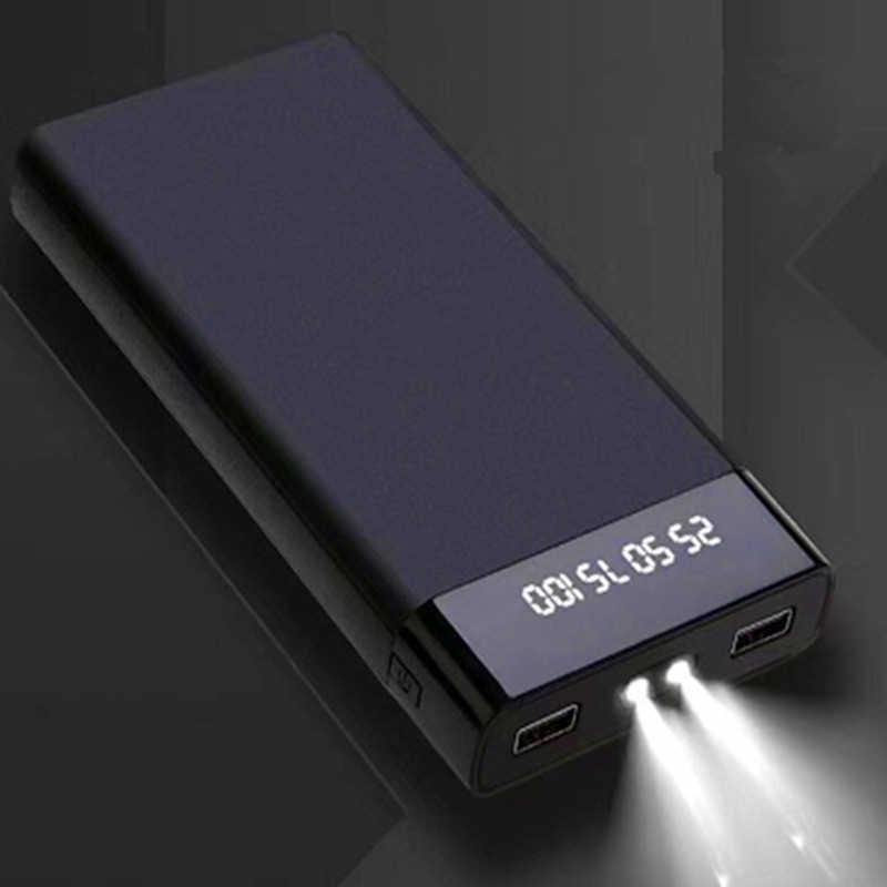 Power bank 30000mah Dual USB powerbank Портативное зарядное устройство pover bank аккумулятор внешний аккумулятор для xiaomi mi 9 iPhone huawei