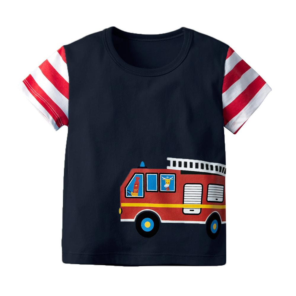 VTOM Hot Sale Summer T Shirts Baby Boys Casual Short Sleeve T Shirt Kids T Shirt Pure Cotton Kids Clothes XN53 in T Shirts from Mother Kids