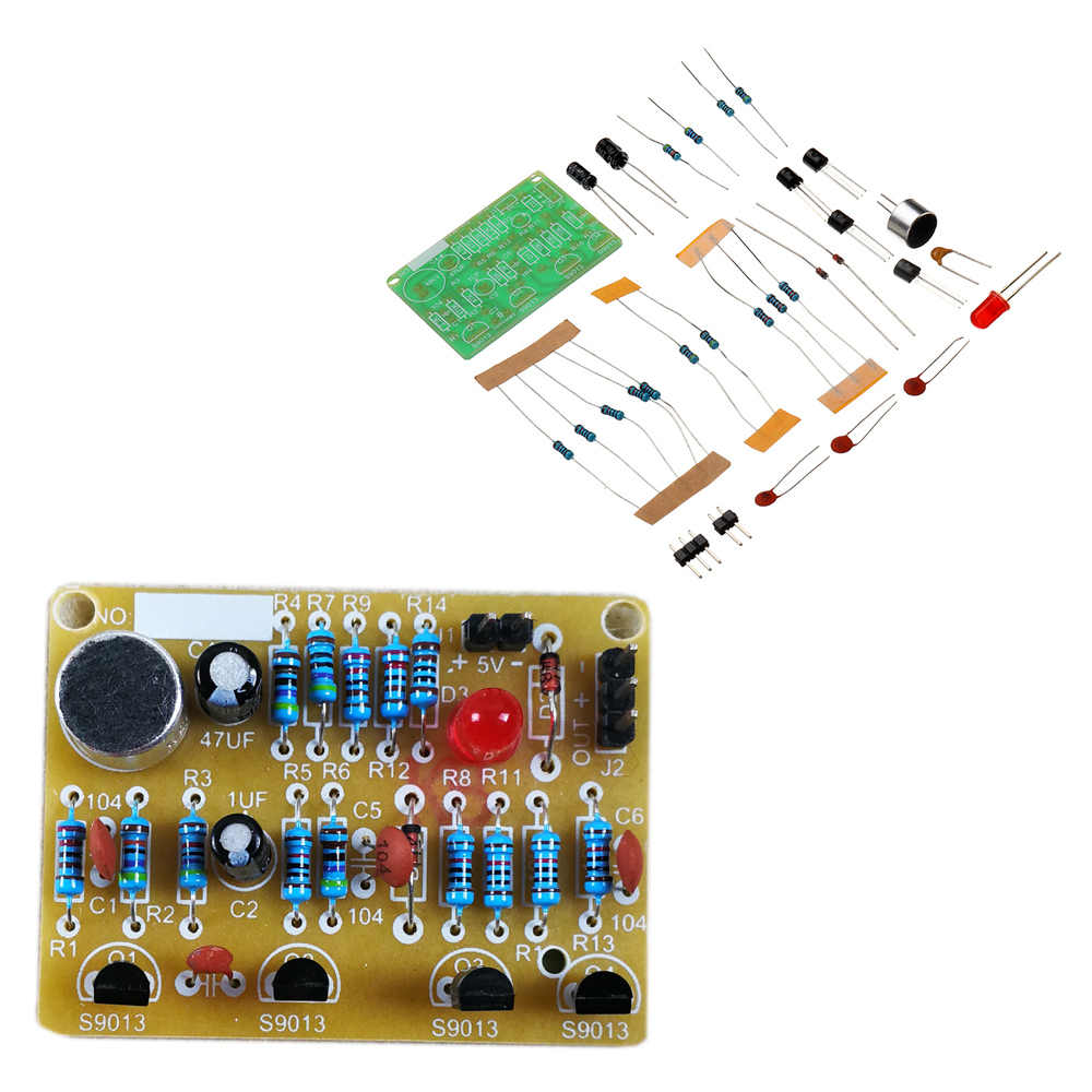 Detail Feedback Questions About Diy Electronic Clapping Voice Build Circuits Control Switch Module Kit Induction Training Production