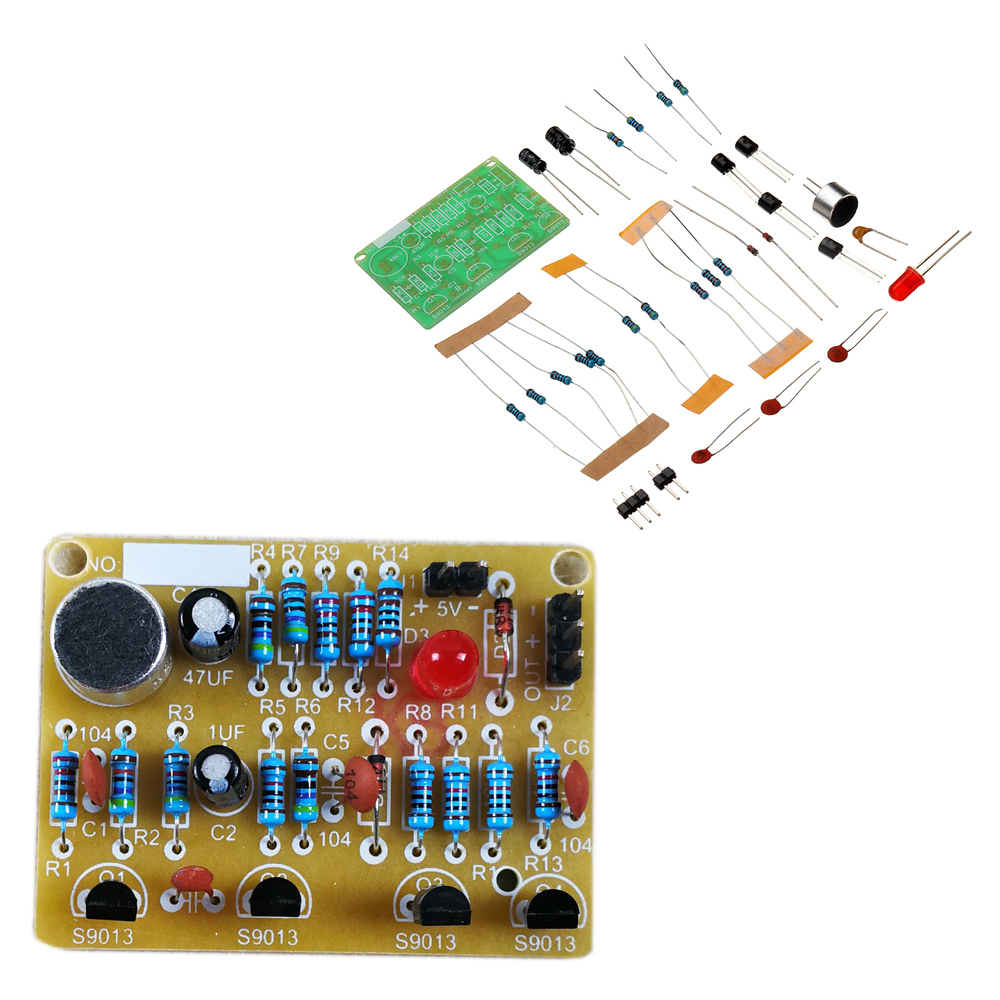 DIY Electronic Clapping Voice Control Switch Module Kit Induction Training DIY