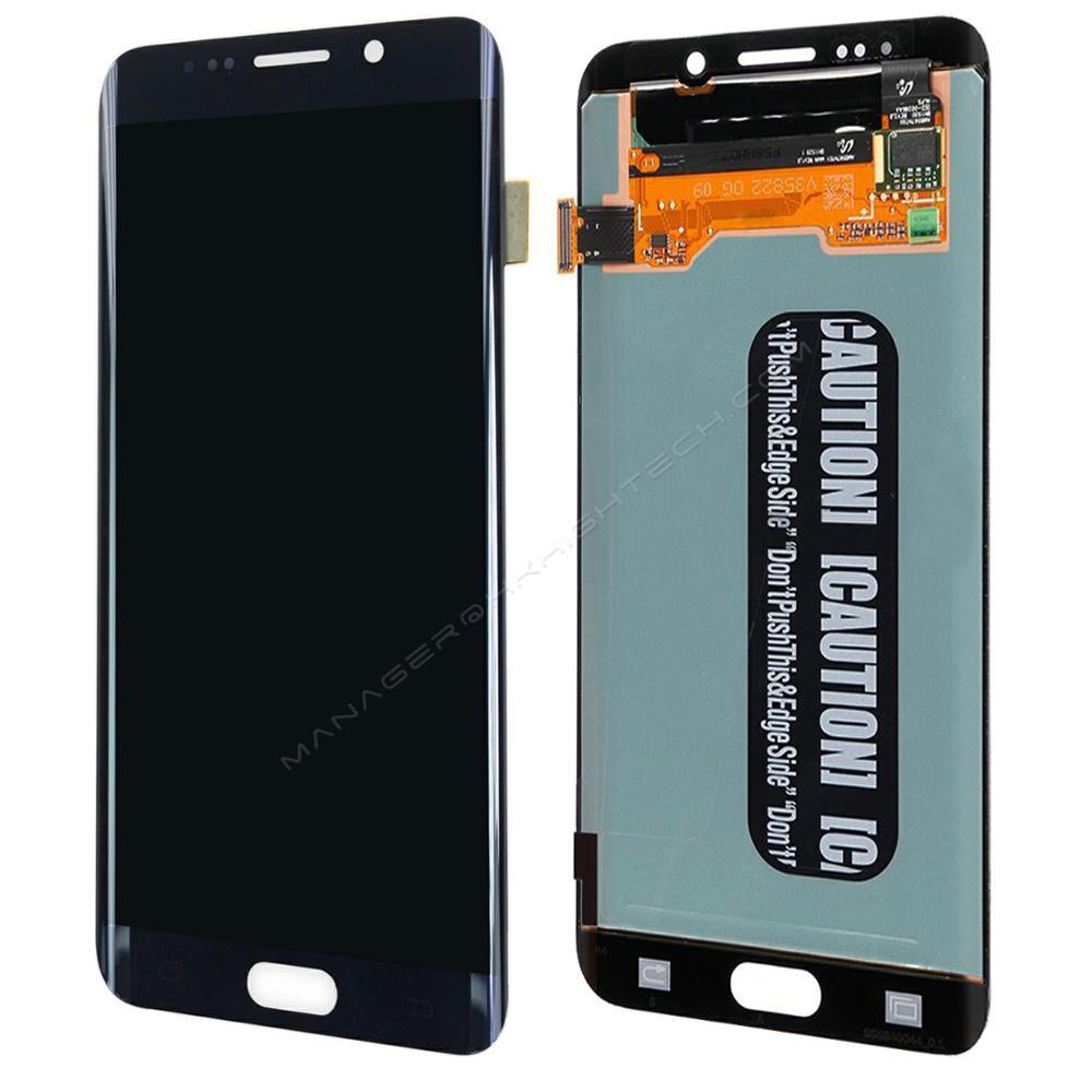 G928F G928G G928T G928A G928I AMOLED сенсорный экран для samsung Galaxy S6 Edge Plus ЖК дисплей дисплей планшета с сенсорным экраном сборки