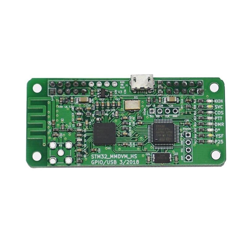 NEW MMDVM Hotspot Support P25 DMR YSF for Raspberry pi+Built-in antenna