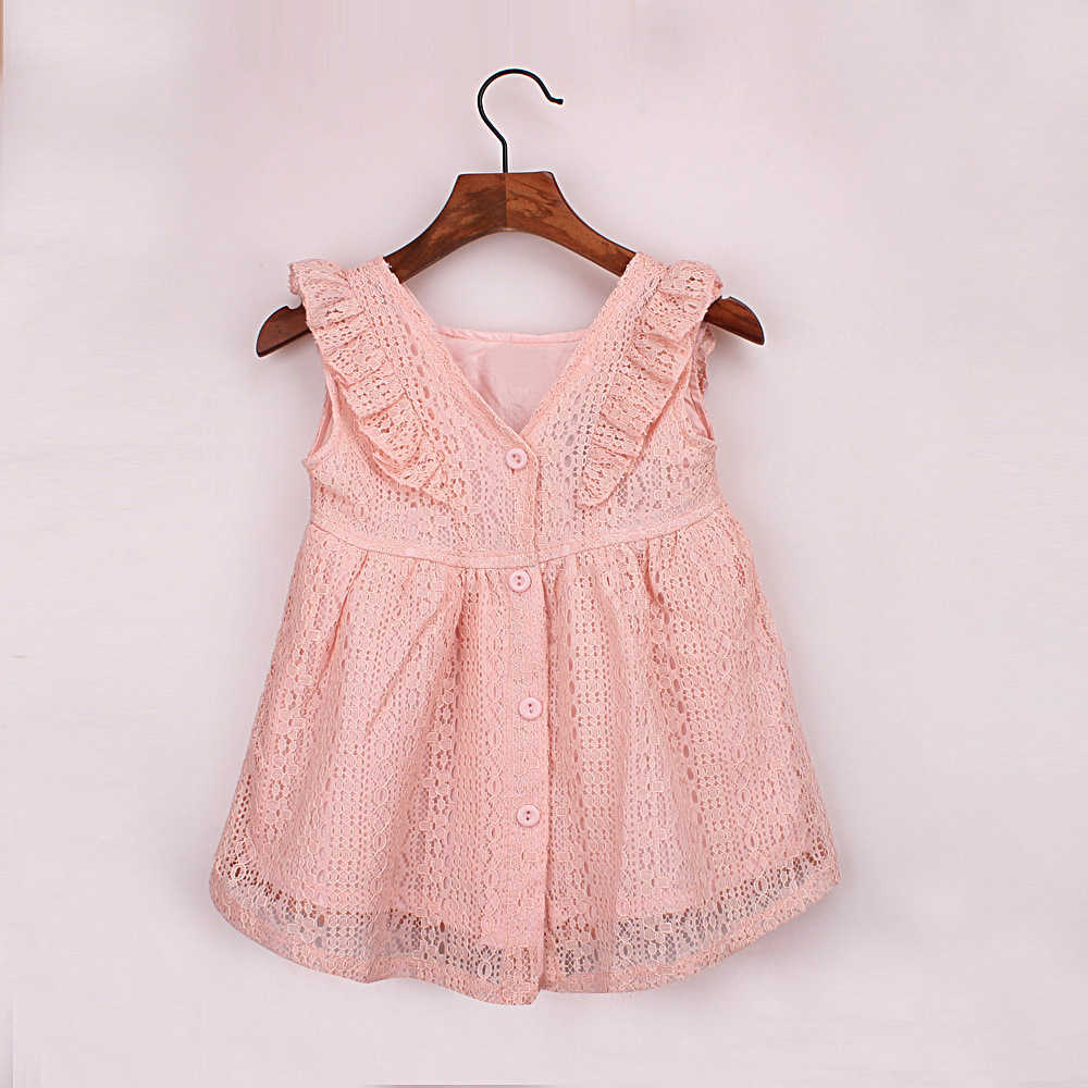a7e1291528 ... summer lace dress age for 9 month-4 yrs toddler girls ruffle cute  dresses 2019 ...
